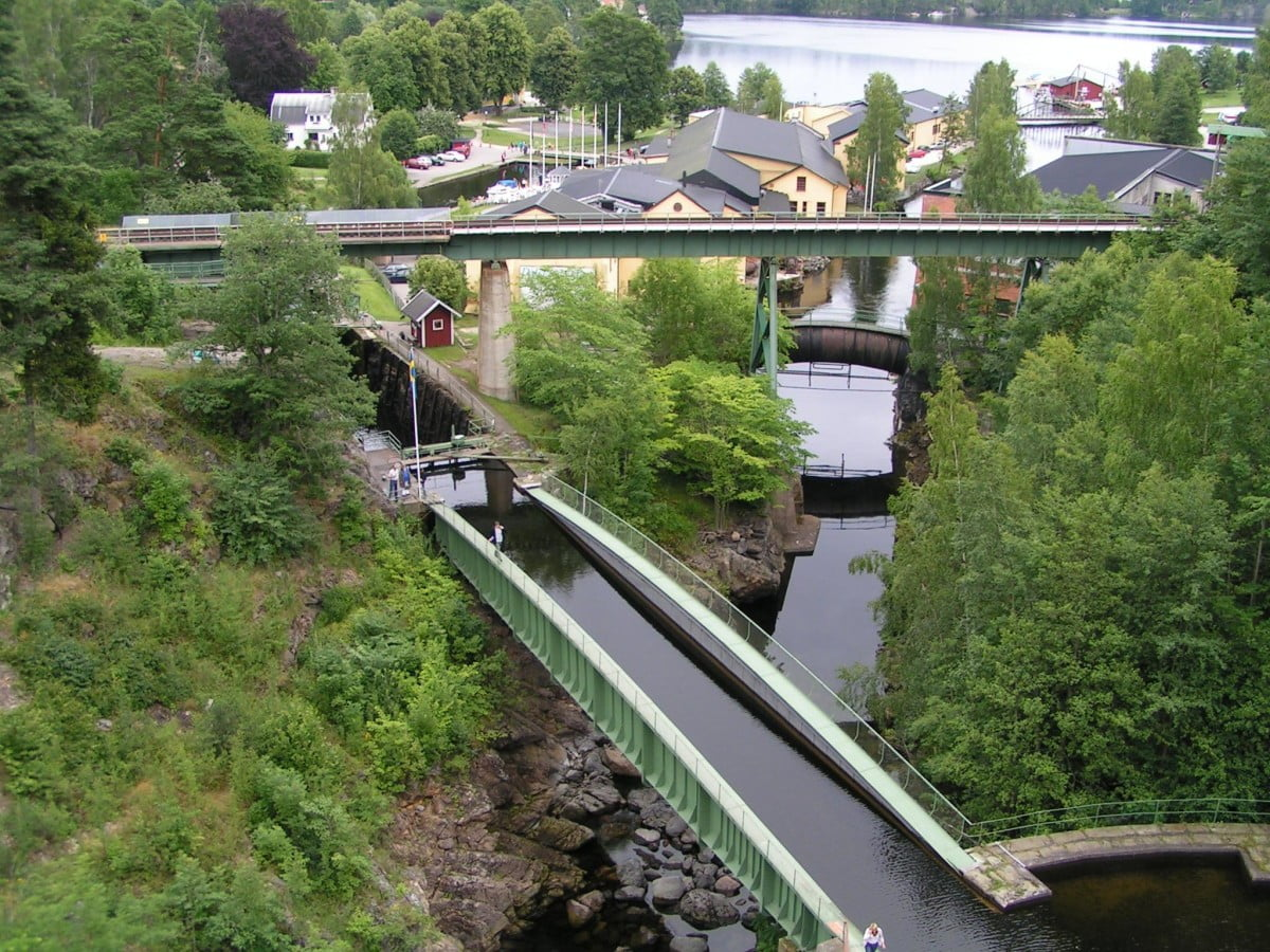 Akvedukten i Håverud, ett av Dalslands mest besökta turistmål
